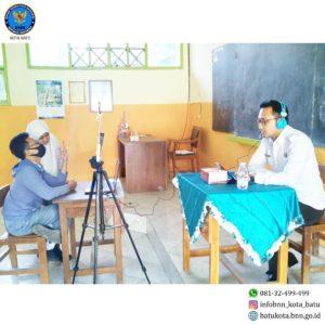 Sosialisasi P4GN secara virtual dan penyusunan video materi P4GN dalam rangka MPLS SMA Kota Batu
