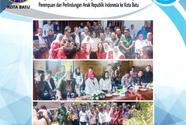 Menghadiri Undangan Acara Kunjungan Kerja Menteri Pemberdayaan Perempuan dan Perlindungan Anak Republik Indonesia ke Kota Batu