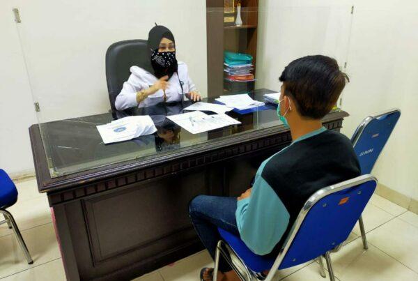 Kegiatan Asesmen kepada Klien Rehabilitasi