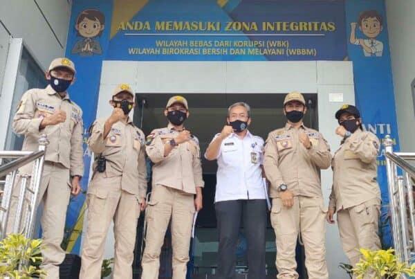 Kunjungan KBS RI (Keluarga Besar Satpam Republik Indonesia)