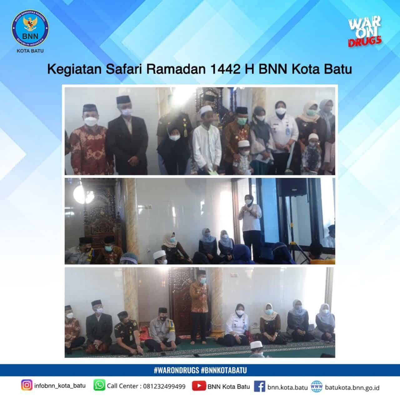 Safari Ramadan 1442 H BNN Kota Batu